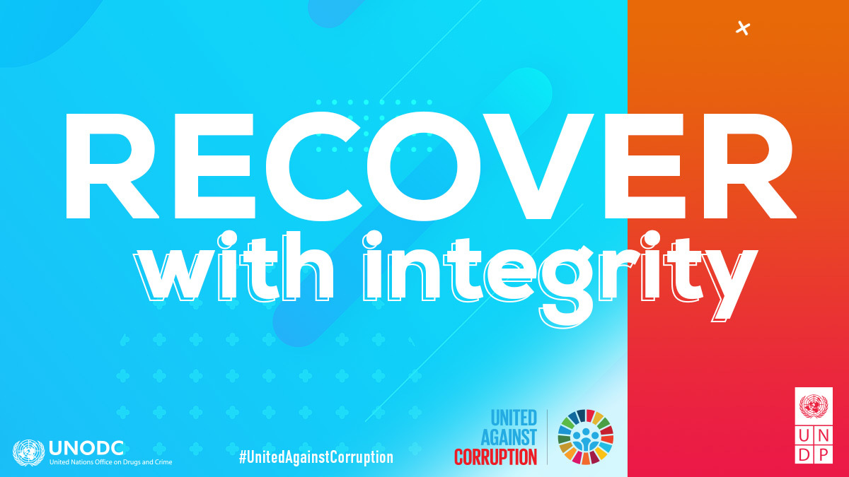 Recover with integrity - Anti-Corruption Day