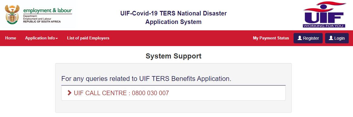 UIF / Ters